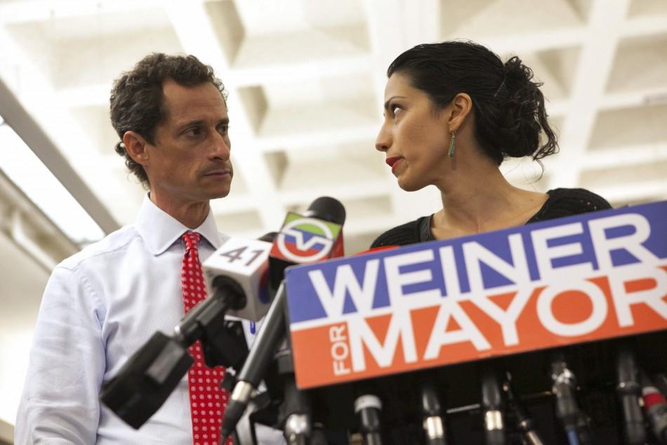 Huma Abedin & Anthony Weiner
