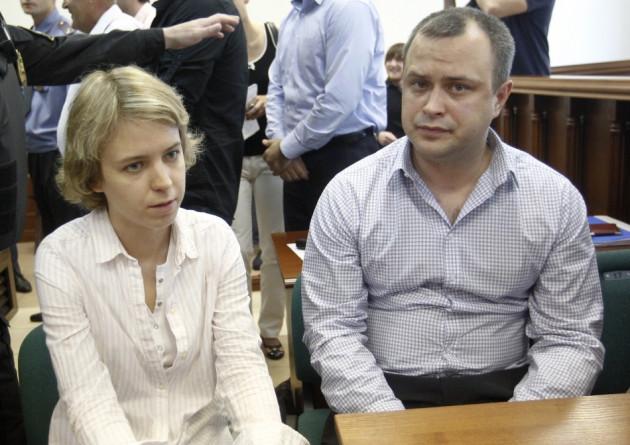 Anna Politkovskaya children Vera and Ily