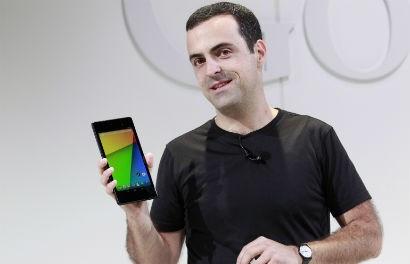 Updated Google Nexus 7 Running Android 4.3