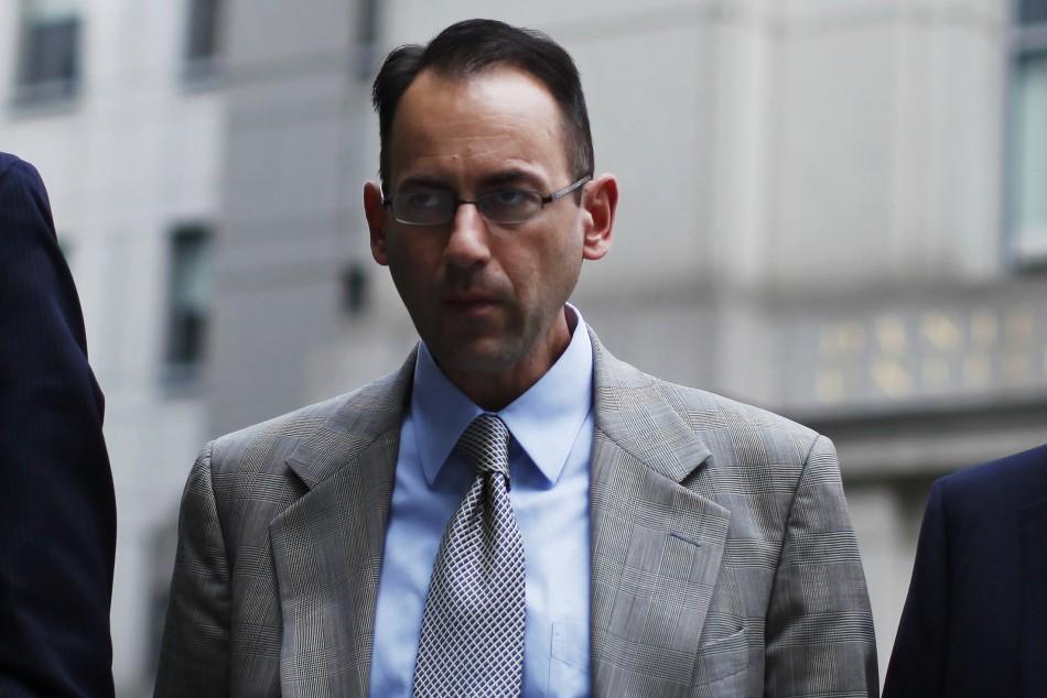 Former UBS banker Peter Ghavami (Photo: Reuters)