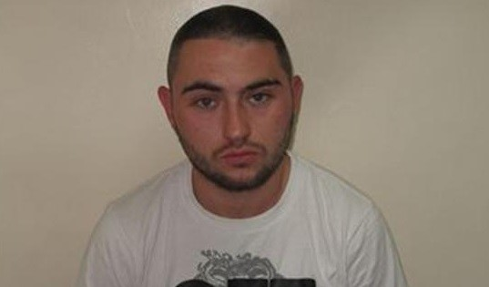 Alfie Gannon is wanted in connection with the shooting (Met Police)