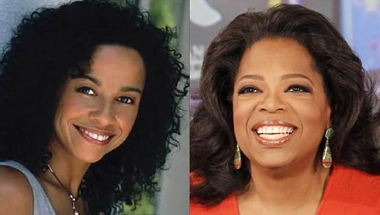 Rae Dawn and Oprah Winfrey