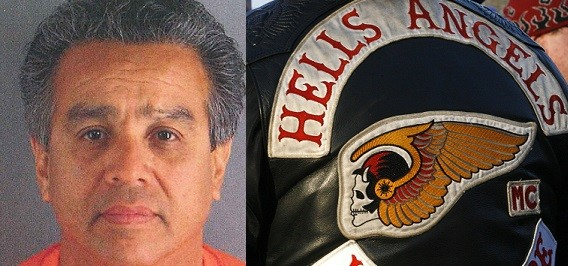 Vagos leader Ernesto Gonzalez is accused of shooting a Hells Angels boss at a Las Vegas casino (Reuters)