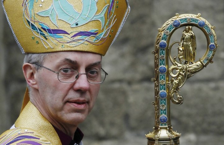 Church of England archbioshop, Justin Welby