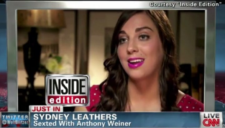Sydney Leathers on Weiner