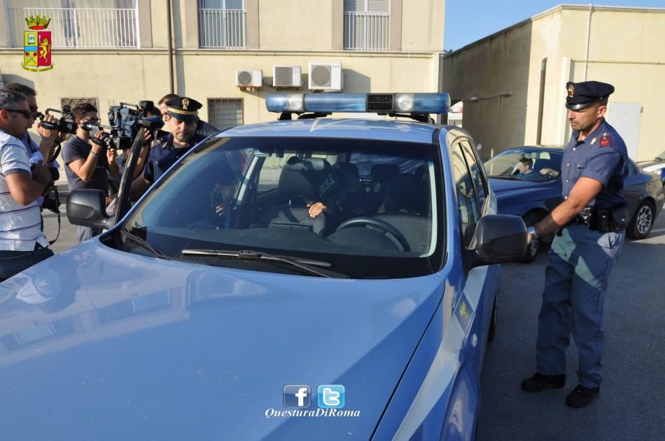 Rome Ostia Mafia police