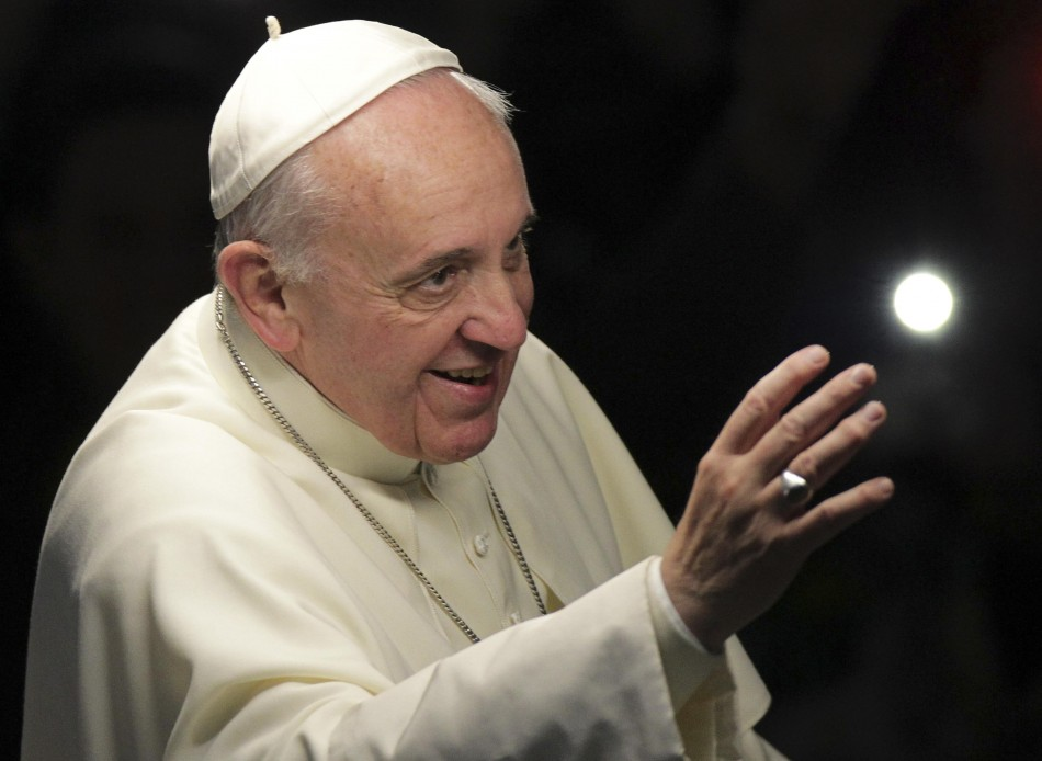 Pope at World Youth Day 2013