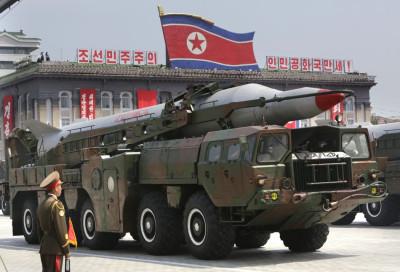 North Korea military parade images