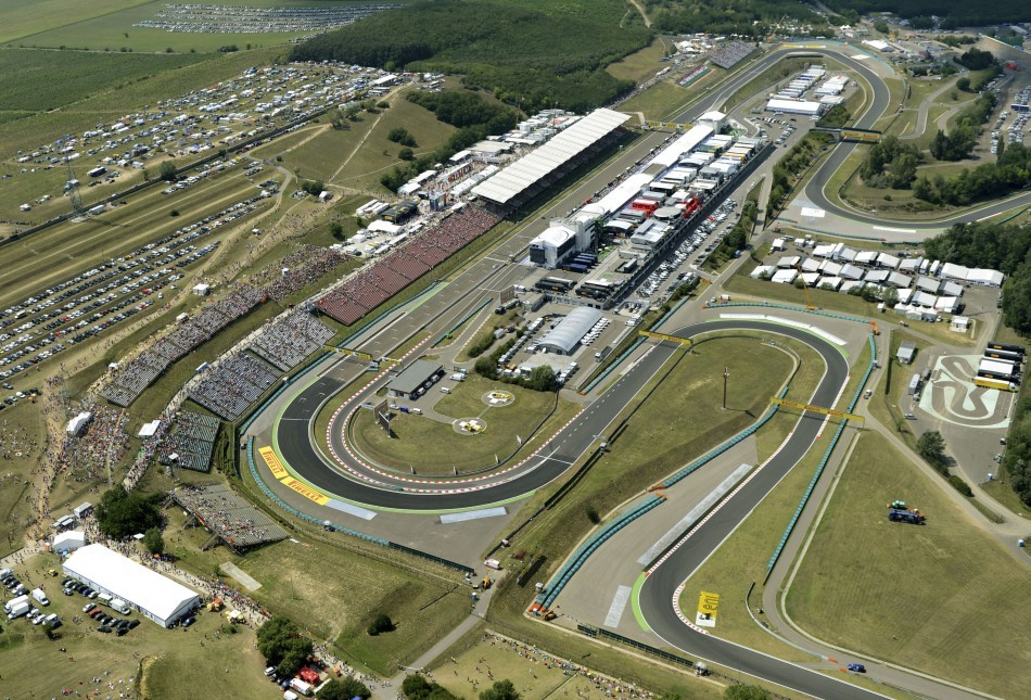 Hungaroring Formula 1 Race Track in Hungary