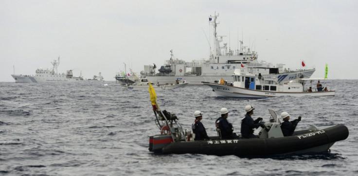 China-Japan territorial row