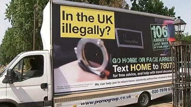 Government Immigration Van