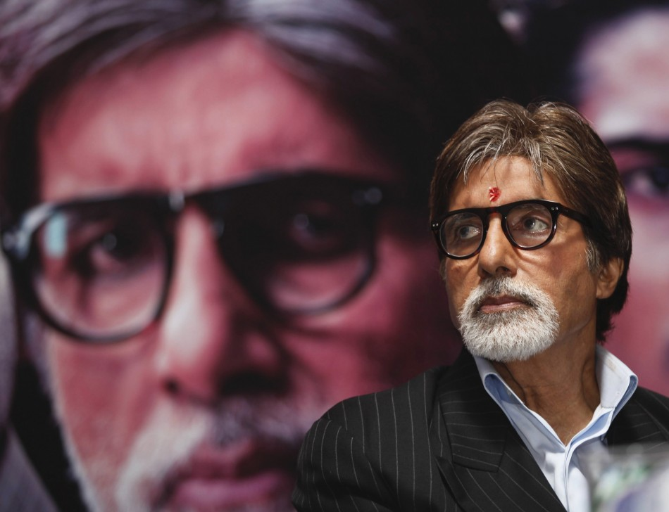 Superstar Amitabh Bachchan Named Greatest Bollywood Star/Reuters