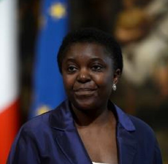 Cecile Kyenge, Italy's first black minister
