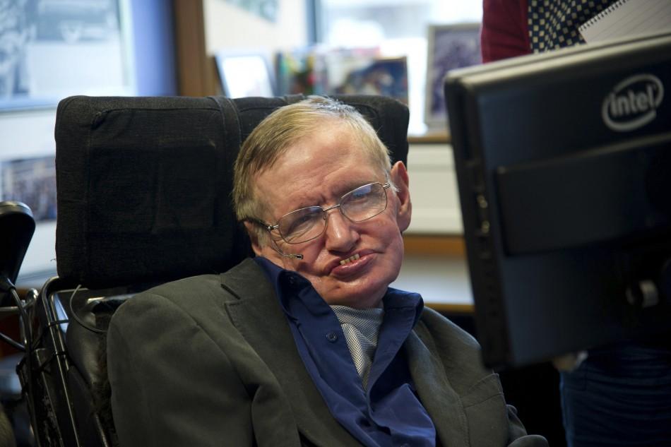 British physicist Stephen Hawking
