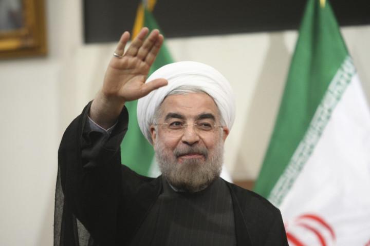 Iran's new president Hassan Rohani