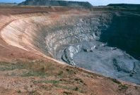 Rio Tinto\'s Northparkes copper-gold mine in Central West New South Wales.