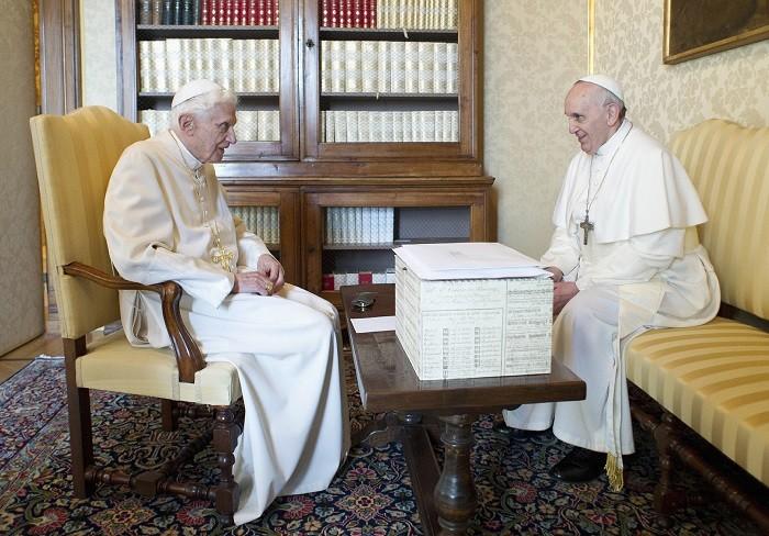 Pope Francis granddad Benedict XVI