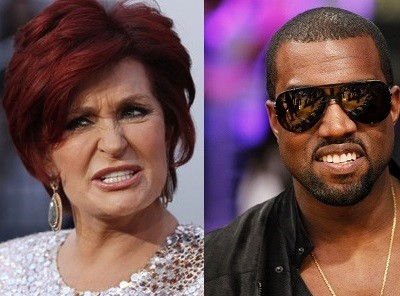 Sharon Osbourne and Kanye West
