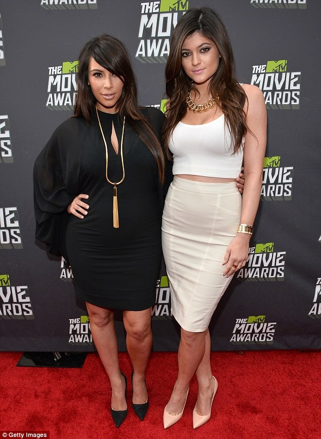 Kim Kardashian First Post-Baby Appearance On Kris Jenners Show