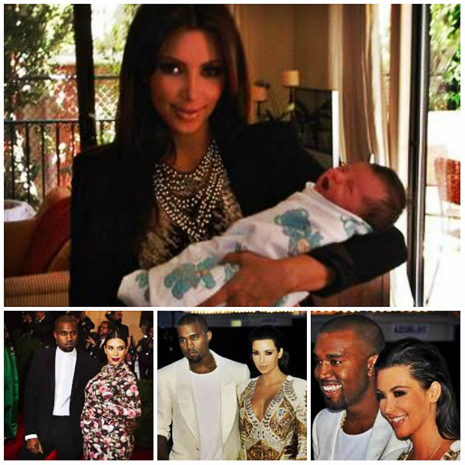Kim Kardashian: First Post-Baby Appearance On Kris Jenner's Show