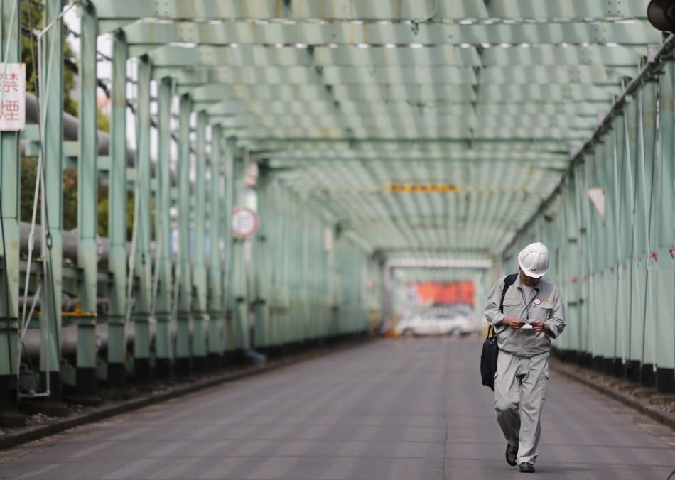Japan factory output