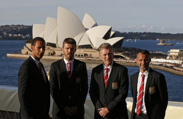 Manchester United in Australia