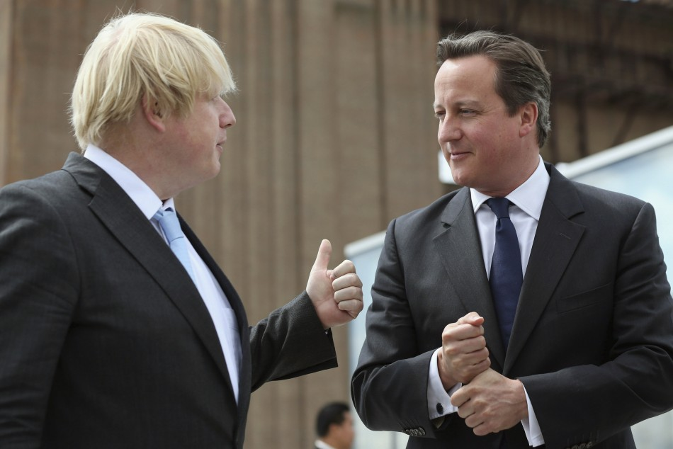 Trust me! Johnson gives thumbs up to Cameron