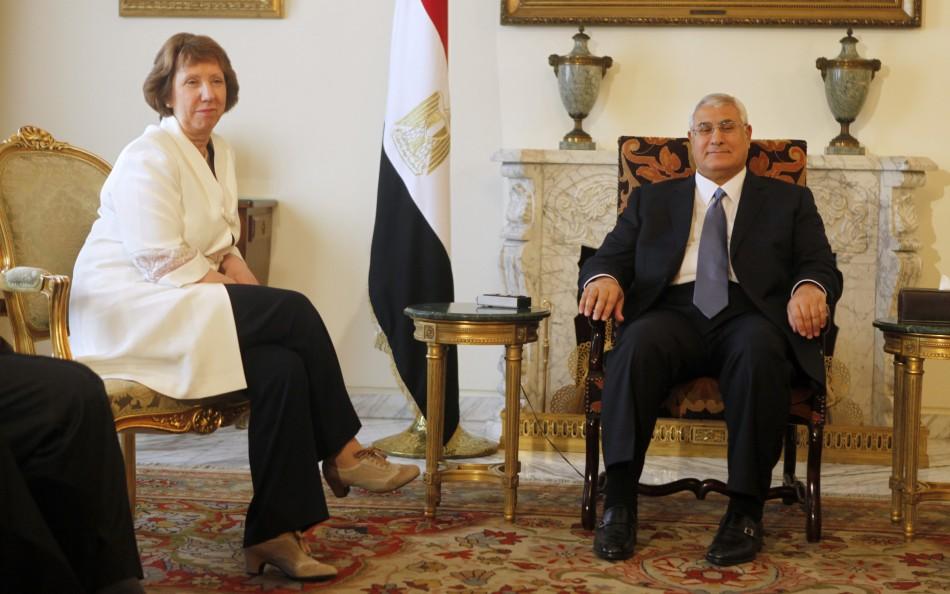 Catherine Ashton Egypt