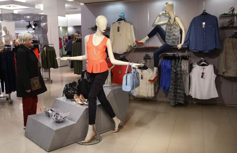 UK's second big clothing retailer posts better sales.