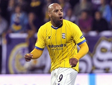 Marlon King was arrested hours after being told he is to be released by Birmingham City (Reuters)