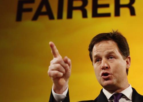 Nick Clegg takes aim at 'racist' vans