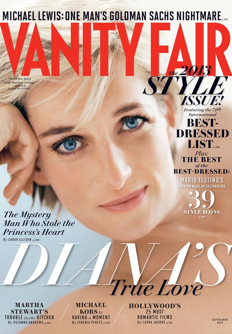 Princess Diana for 'Vanity Fair'