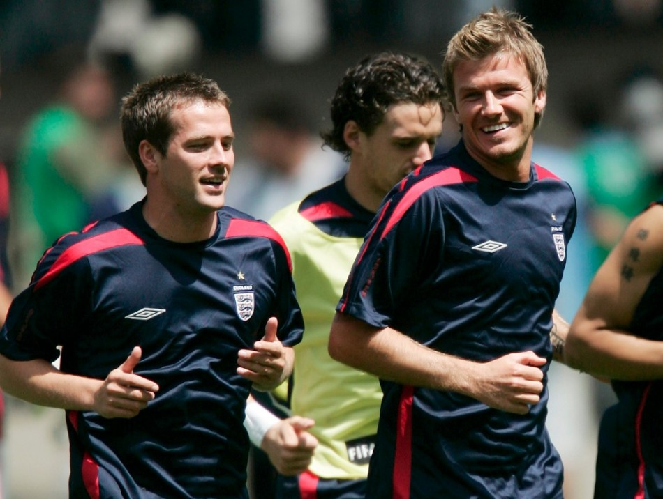 Michael Owen and David Beckham are believed to be among the Dubai property investors, according to WAM (Photo: Reuters)