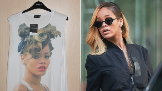 Rihanna wins UK court case ordering Top Shop to stop selling T-shirts featuring her picture/Twitter/Rundschau