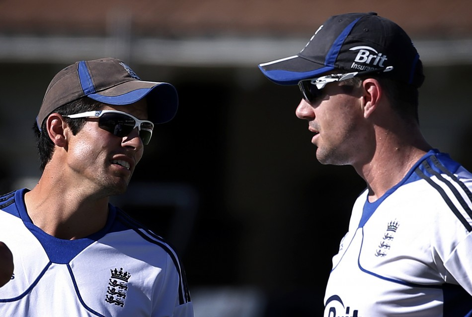 Alastair Cook and Kevin Pietersen