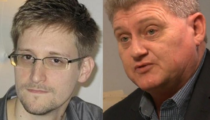 Edward Snowden and his Father Lon
