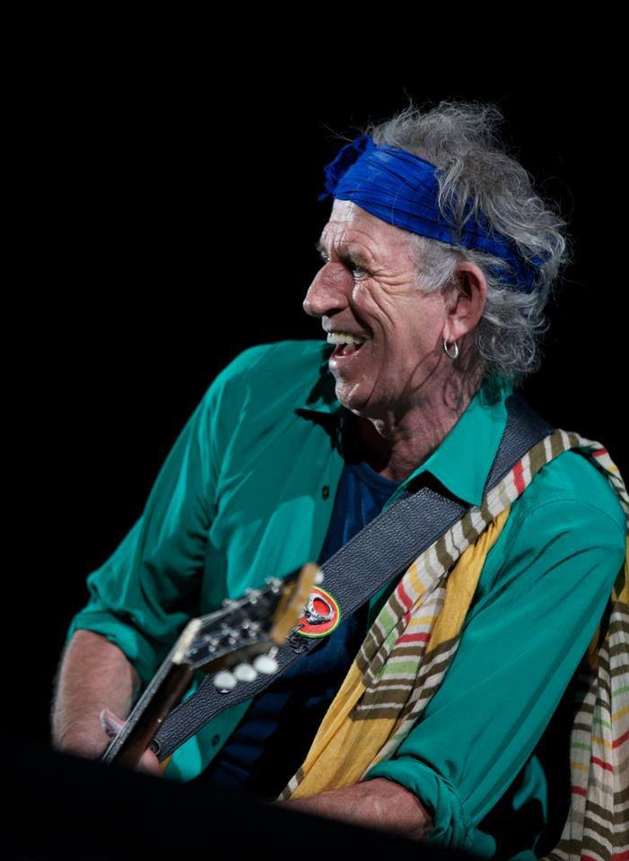 4. Keith Richards, Rolling Stones