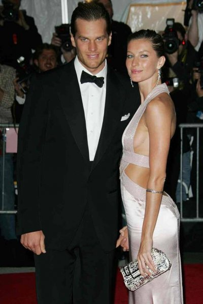 6. Tom Brady and Gisele Bundchen