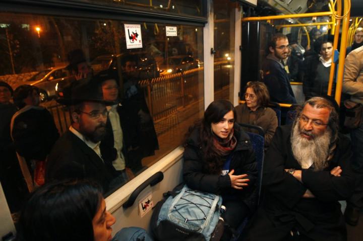 ultra-Orthodox bus israel