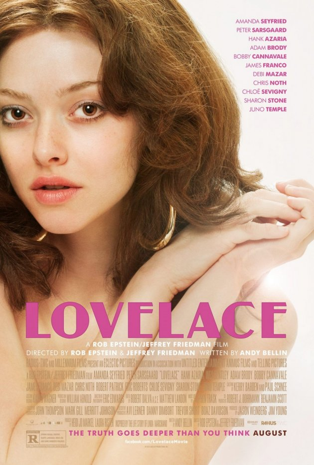 Lovelace's Amanda Seyfried Doesn't Want Her Dad to See Her Naked Body During the Sex Scenes/Facebook/Lovelace
