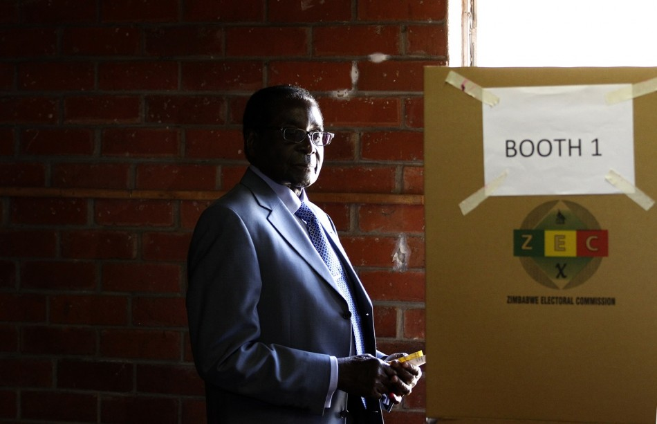 Zimbabwe Mugabe vote