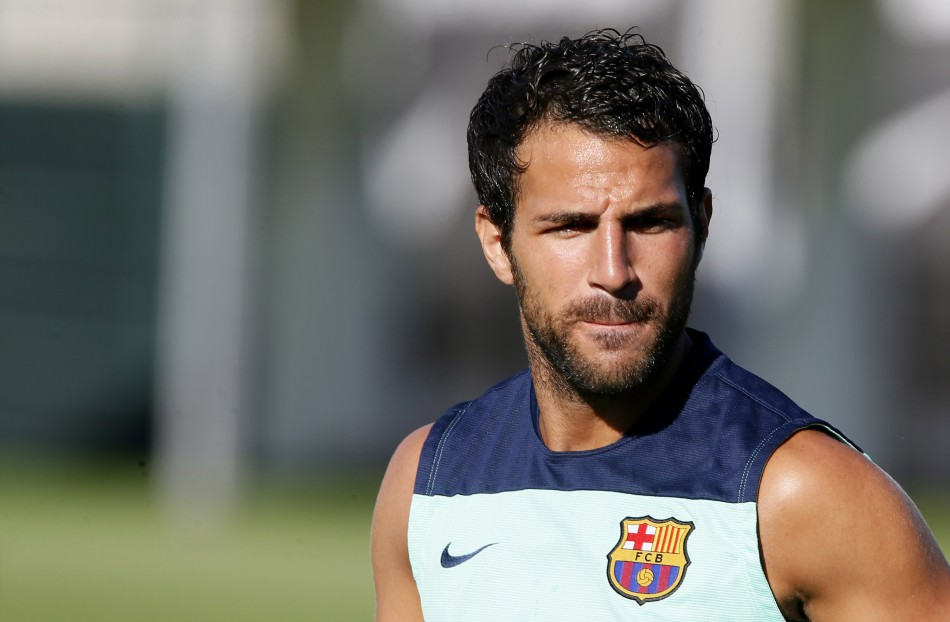 Cesc Fabregas (Photo: Reuters)