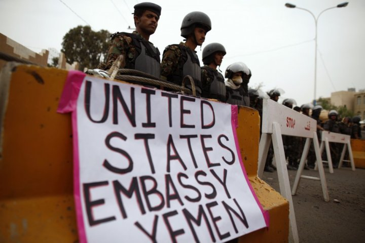 US embassies in Middle East to be closed on Sunday over al-Qaida-related terror threat