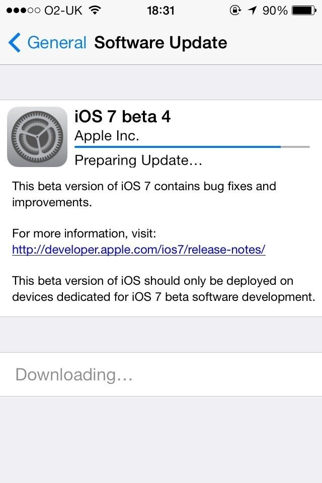 iOS 7 Beta 5 Release Date Tipped for 12 August