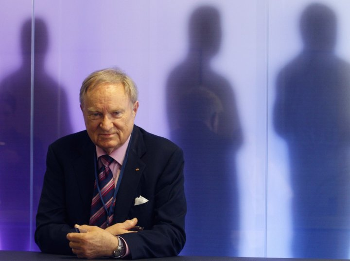 Swiss right-to-die group Dignitas head Ludwig Minelli poses for photographers during the World Federation of Right-to-Die Societies in Zurich (Photo: Reuters)