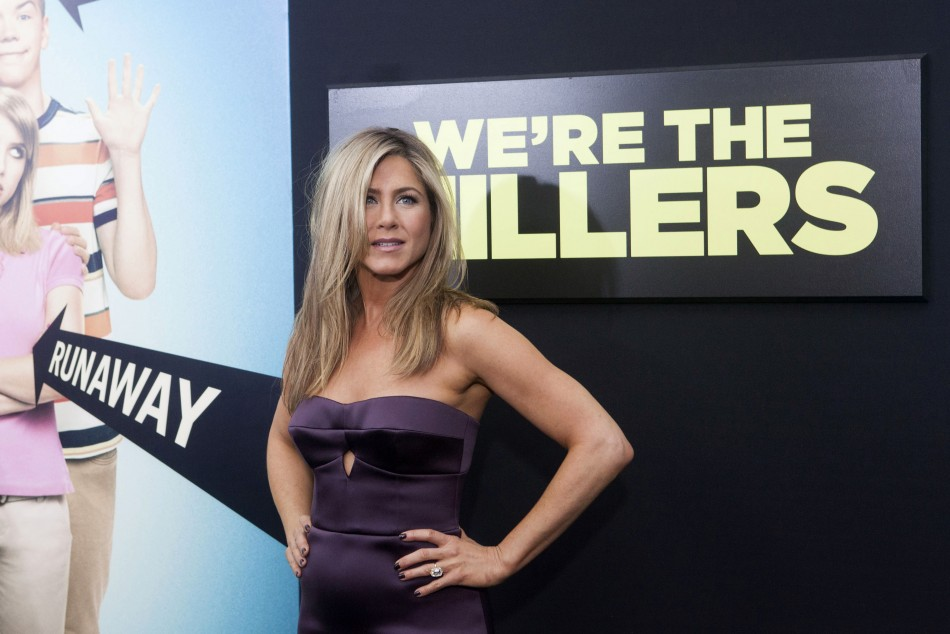 Cast member Jennifer Aniston arrives for the premiere of the film