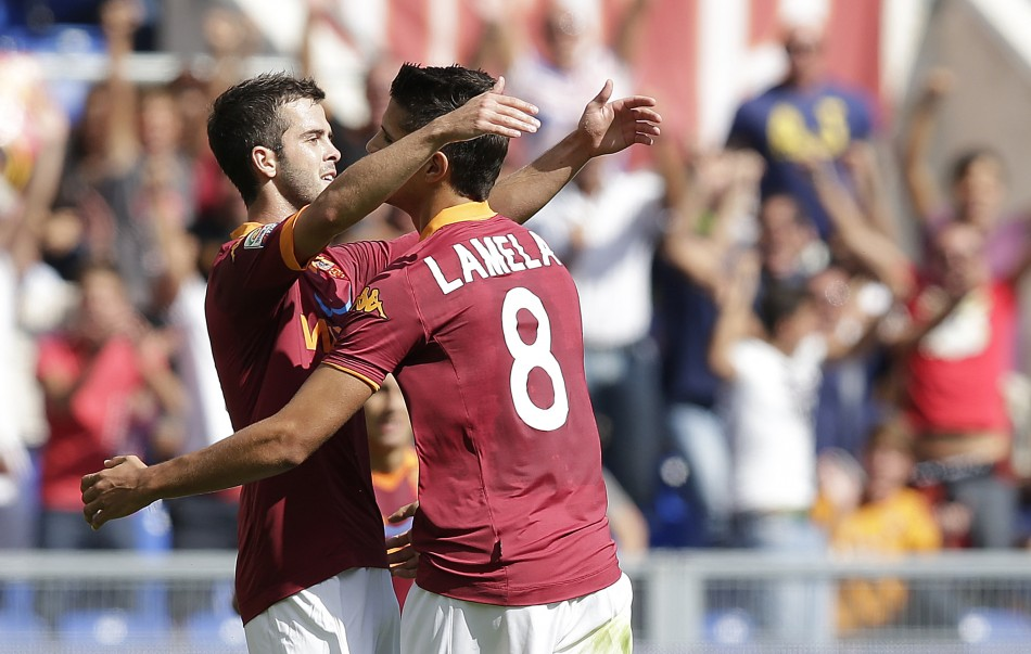 Roma stars Pjanic and Lamela are targets for Spurs