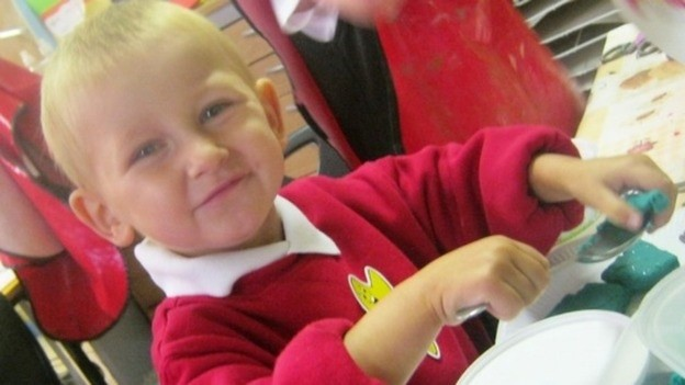 Police said the months of abuse had left Daniel a a 'bag of bones' (West Midlands Police)