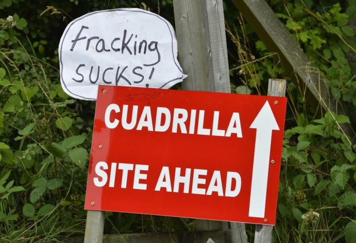 Cuadrilla shale gas