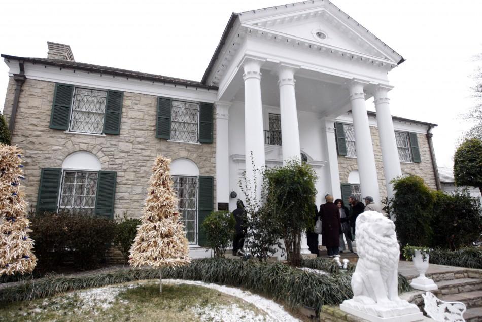 Elvis Presley's Graceland home